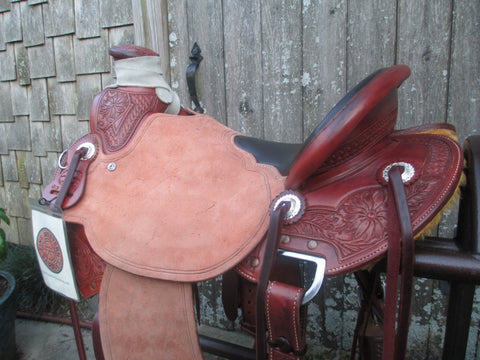 McCall Wade Trail Roping Saddle