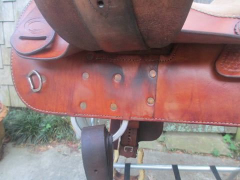 Vinton Reining Saddle