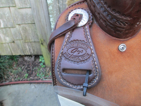 Todd Jeys Cutting Saddle