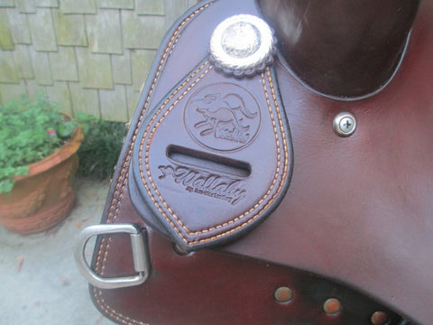 Roohide Wallaby Cutting Saddle