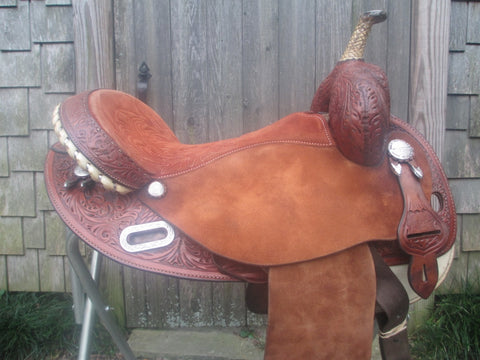 Martha Josey Hiphugger Barrel Saddle