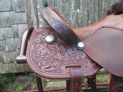 Jeff Smith Mary Walker Barrel Saddle