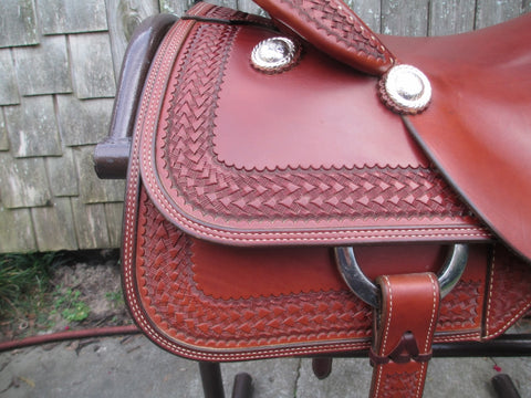 New Roohide Cutting Saddle