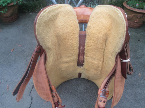 Bob's Reining Saddle Work Saddle