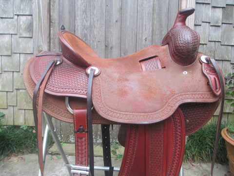 Todd Jeys Ranch Saddle Will James Roping Saddle