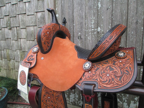 New Jeff Smith C3 Barrel Saddle