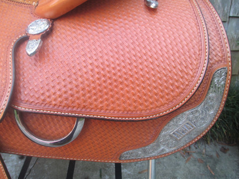 Blue Ribbon Show Saddle (NEW)