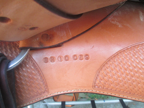 New Blue Ribbon Show Saddle