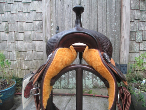 Bob's Cowhorse Saddle Cutting Saddle