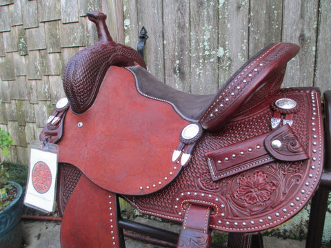 New Ruelas Barrel Saddle