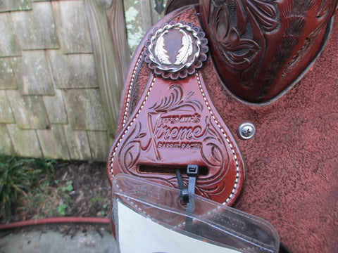 New Jeff Smith Xtreme Barrel Saddle