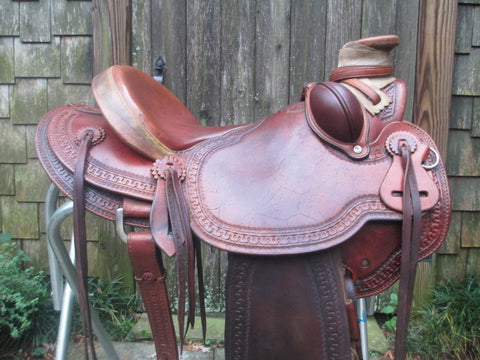 McCall Lady Wade Roping Saddle