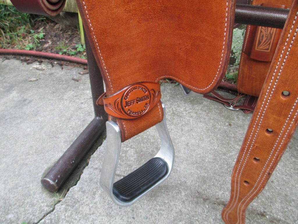 New Jeff Smith C3 Barrel Saddle - Fine Western Saddles