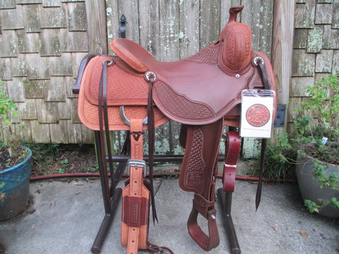 New Jeff Smith Cowhorse Saddle