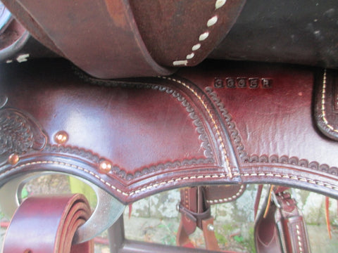 New Ruelas Cowhorse Saddle