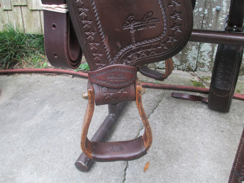 Sean Ryon Cutting Saddle Built By Paul Garcia