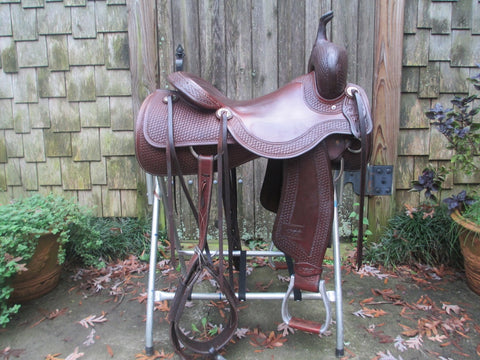 Jeff Smith Cutting Saddle