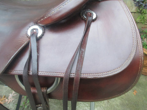 Roo Hide Brumby Cutting Saddle