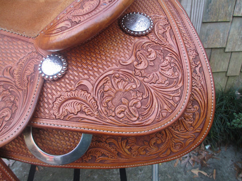 Bob's KR  Lady  Reiner Youth/Small Adult Reining Saddle