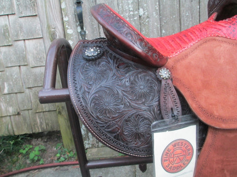 Martin Saddlery FX3 Barrel Saddle