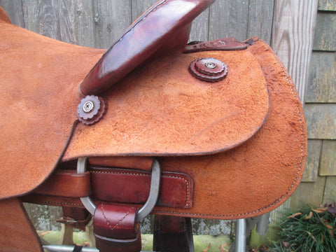 McCall Roping Saddle