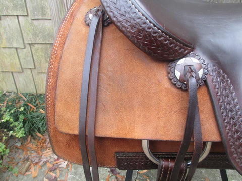 Ricky Green Cutting Saddle