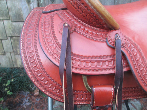 Billy Cook Arbuckle Wade Tree Roping/ Ranch Saddle Model 2182