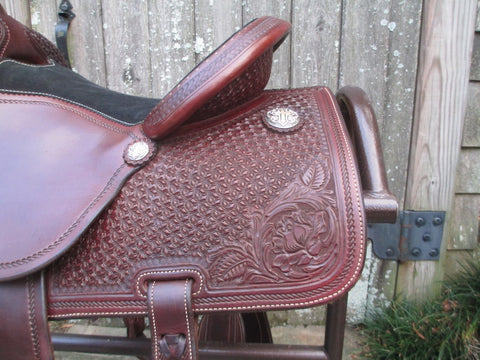 Martin High Plains Roping Saddle