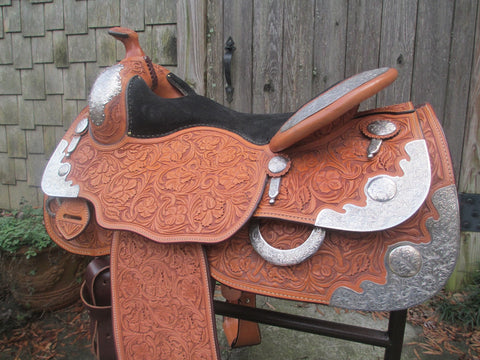 Bob's Show Reining Saddle (Never Been On A Horse)