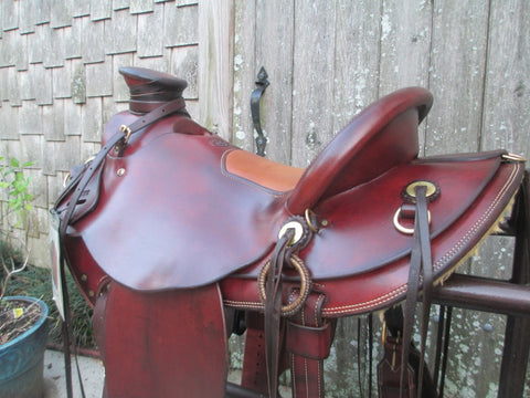 Frecker Saddlery Wade Roping Saddle