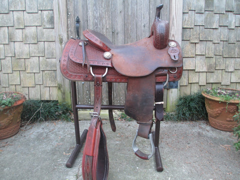 Calvin Allen Cutting Saddle