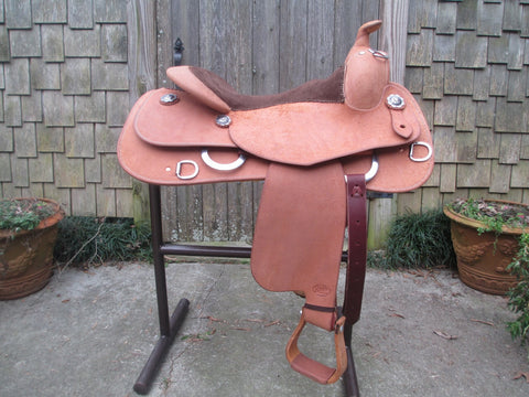 NEW Bob's Work Saddle Training Saddle Reining Saddle