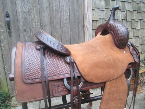 Joey Jemison Cutting Saddle Built By Michelle Liggett