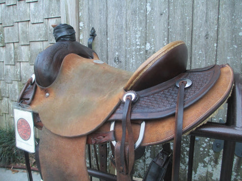 John Willemsma (L J Saddlery) Roping Saddle