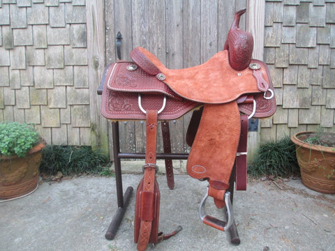 Marty Byrd Cutting Saddle