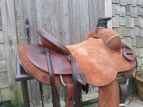 Craig Lewis Roping Ranch Saddle