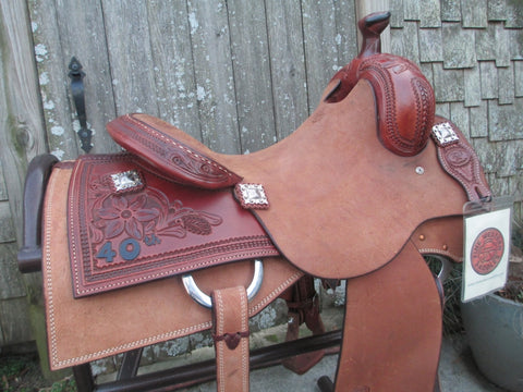 New KO Elite Cowhorse Saddle