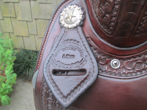 Jerry Shaw Cutting Saddle
