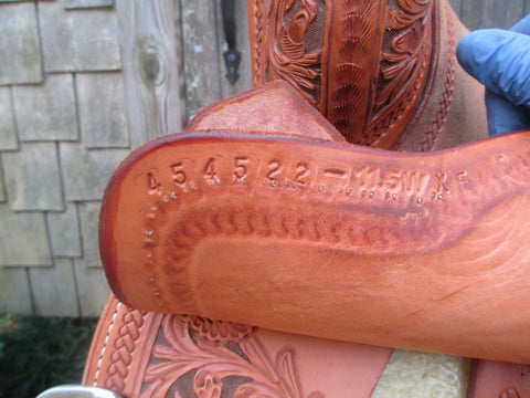 Martin Saddlery Crown C Barrel Saddle
