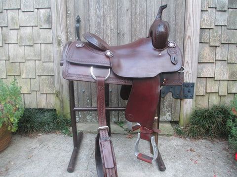 Teskeys Cutting Saddle