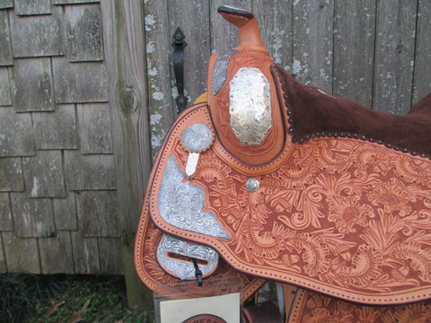 New Billy Cook (Sulphur OK.) Show Saddle