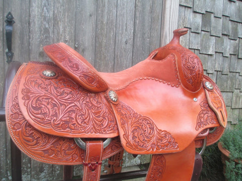 Jeff Smith Reining Saddle (New)