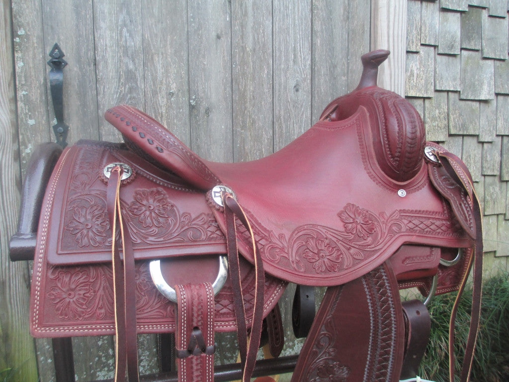 New Don Rich Cowhorse Saddle - Fine Western Saddles