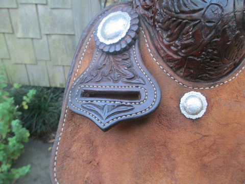 D.W. Barnes Calf Roping Saddle
