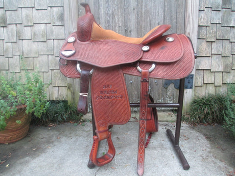 Bob's Cowhorse Saddle