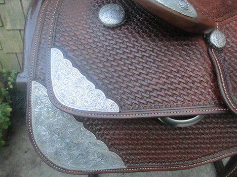 Densley Custom Tack Show Saddle