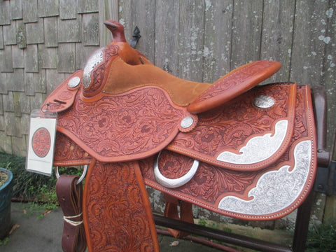 Bob's Youth Or Small Adult Reining Saddle Show Saddle