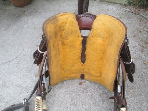 Teskeys Youth Ranch Roping Saddle