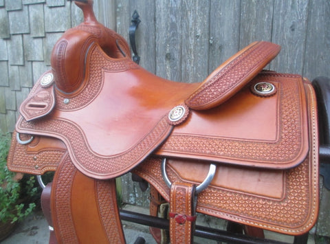 Teskey's Casey Deary Cowhorse Saddle