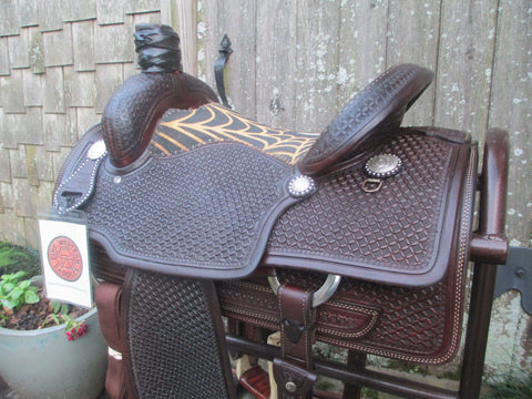 Jeff Smith Roping Saddle